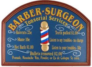 dentista barbeiro