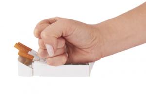 o fumo e o implante