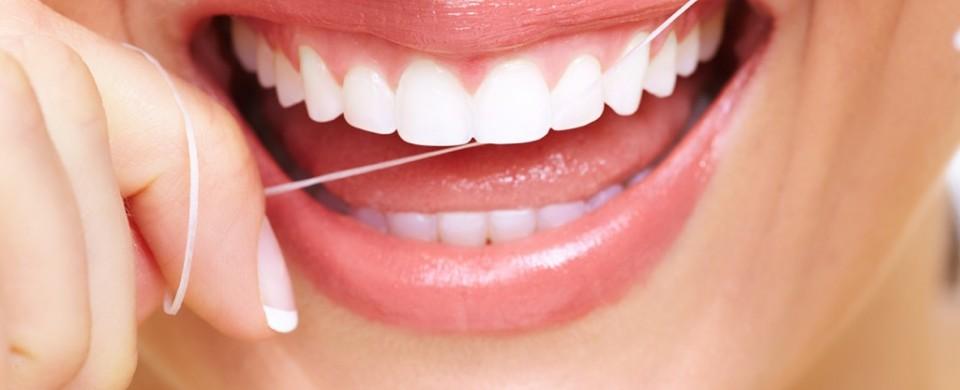 fio dental antes ou depois